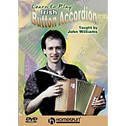 Homespun Learn to Play Irish Button Accordion DVD/Instructional/Folk Instrmt Series DVD Performed by John Williams