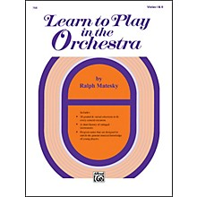 Alfred Learn to Play in the Orchestra Book 1 Violas I & II