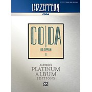 Alfred Led Zeppelin - Coda Platinum Bass Guitar TAB Book