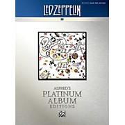 Alfred Led Zeppelin - III Platinum Bass Guitar Book
