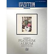 Alfred Led Zeppelin - Presence Platinum Bass Guitar TAB Book