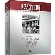Alfred Led Zeppelin Box Set I-V Guitar Tab Platinum Edition Books