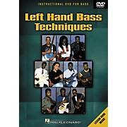 Hal Leonard Left Hand Bass Techniques (DVD)