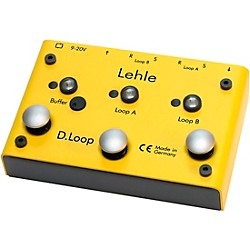 Lehle D.Loop SGoS 2 Channel Guitar Effects Loop Pedal (LEDLoop)