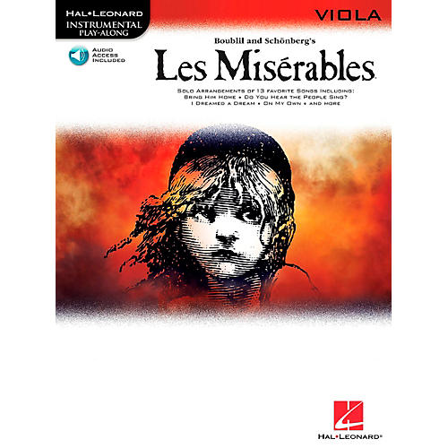 Hal Leonard Les Miserables for Viola - Instrumental Play-Along Book/CD-thumbnail