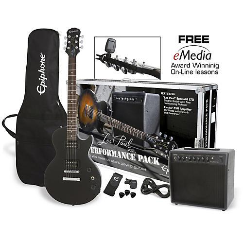 Epiphone Les Paul Electric Guitar Performance Pack