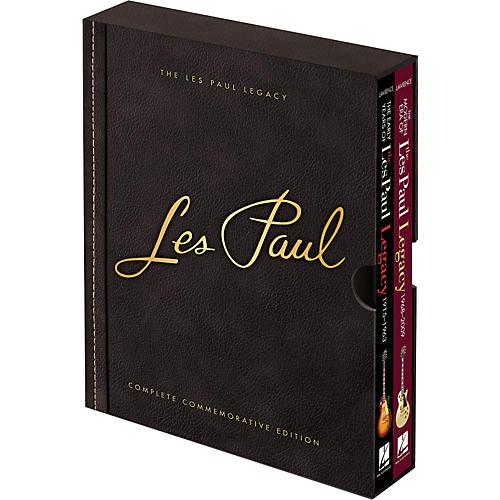Hal Leonard Les Paul Legacy Complete Commemorative Edition Boxed Set