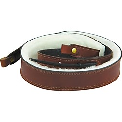 "Levy's 2"" Boot Leather Sheepskin Padded Banjo Strap (PMB42-WAL)"