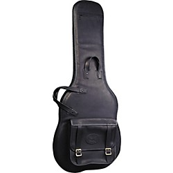 Levy's Italian Leather Electric Guitar Gig Bag (LM18-BLK)
