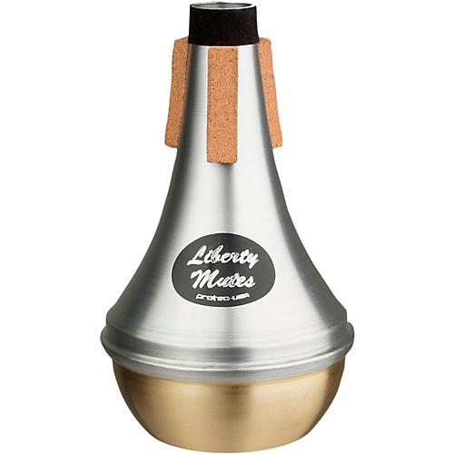 Protec Liberty Trumpet Straight Aluminum Mute With Brass End-thumbnail
