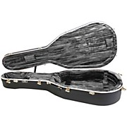 Hiscox Cases Lifelflite Artist Acoustic Guitar Case - Black Shell/Silver Interior