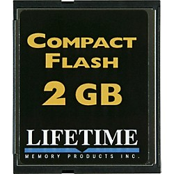 Lifetime Memory Products Compact Flash Card (10096-4)