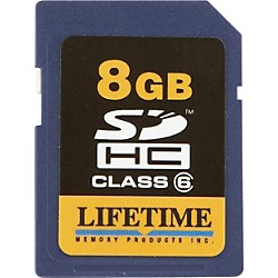 Lifetime Memory Products Secure Digital 8GB SDHC Card (10086-8)