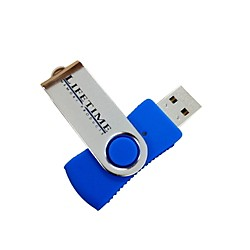 Lifetime Memory Products USB 2.0 QuickStick Swivel Flash Drive (10089-4s)