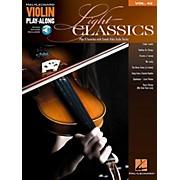 Hal Leonard Light Classics - Violin Play-Along Volume 42 Book/Online Audio