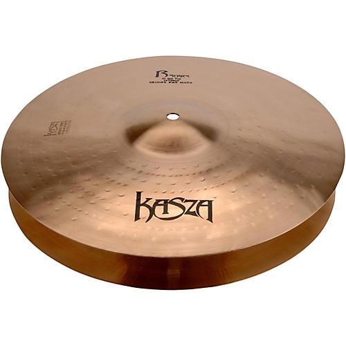 Kasza Cymbals Light Top/Heavy Flat Bottom Skinny Fat Rock Hi-hats-thumbnail