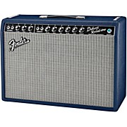Fender Limited Edition '65 Deluxe Reverb 22W 1x12 Tube Guitar Combo Navy Blues