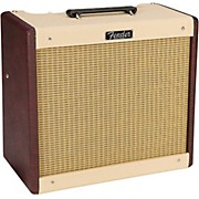 Fender Limited Edition Blues Jr 15W Combo Amplifier Regular Two-Tone Bordeaux Wine/Blonde