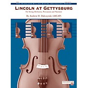 Alfred Lincoln at Gettysburg String Orchestra Grade 2.5 Set