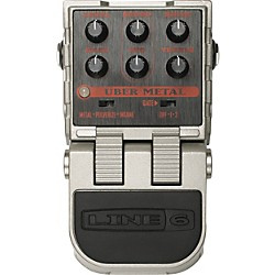 Line 6 ToneCore Uber Metal Distortion Pedal (99-040-1401)