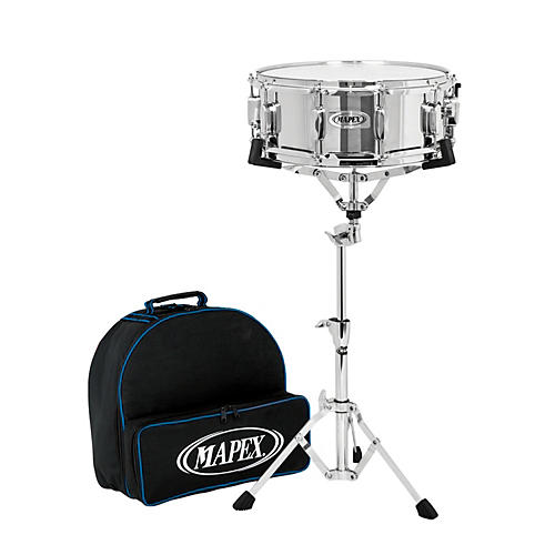 Mapex Lite Backpack Snare Drum Kit with Rolling Bag-thumbnail