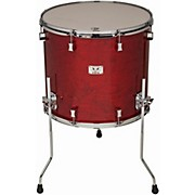 Pork Pie Little Squealer Birch/Mahogany Floor Tom with Chrome Hardware