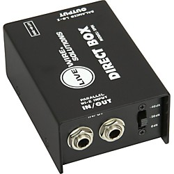 Live Wire SPDI Passive Direct Box with Attenuation Pad (SPDI)