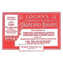 Music Sales Logan's Complete Tutor for the Highland Bagpipe Music Sales America Softcover by Captain John A. MacLellan