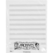 Archives Loose Leaf Manuscript Paper