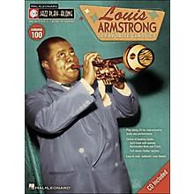 Hal Leonard Louis Armstrong Jazz Play- Along Volume 100 Book/CD