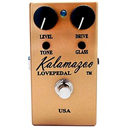 Lovepedal Kalamazoo Gold Overdrive Guitar Effects Pedal (USED004000 KZGOLD)