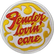 Fender Lovin' Care Patch 3""