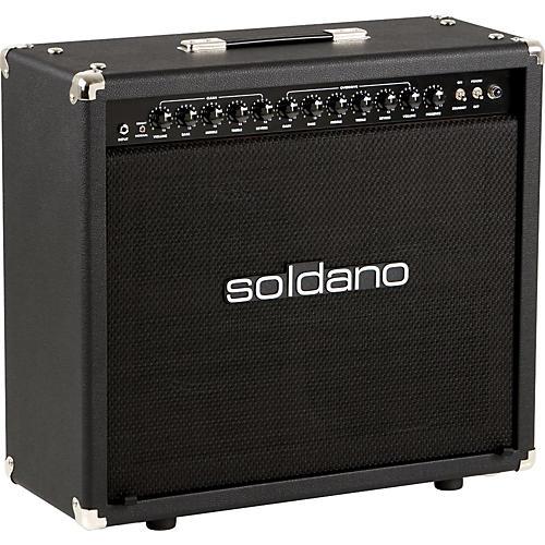 Soldano Lucky 13 50W 2x12 Tube Guitar Combo Amp Black