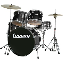 Ludwig Accent Combo with Zildjian ZBT Cymbal Set (LR1125Z1)