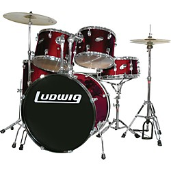 Ludwig Accent Combo with Zildjian ZBT Cymbal Set (712873 - Kit)