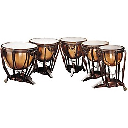 Ludwig LKP505PG Professional Polished Copper Timpani Set of 5 (KIT876752)