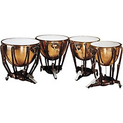 Ludwig LKS404PG Stand Polished Copper Timp Set (KIT786297)