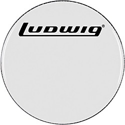 Ludwig Smooth White Bass Drum Head (LW4220)