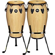 Meinl Luis Conte 2 Piece Conga Set with Free Basket Stands
