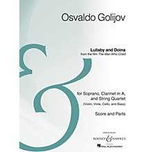 Boosey and Hawkes Lullaby and Doina from the film The Man Who Cried Boosey & Hawkes Chamber Music Series by Osvaldo Golijov