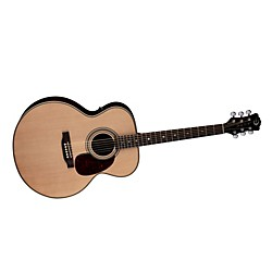Luna Guitars Americana Classic AMJ 100 Jumbo Acoustic-Electric Guitar (AMJ 100)