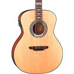 Luna Guitars Artist Series Deco All Solid Wood Grand Auditorium Acoustic-Electric Guitar (Art Deco)