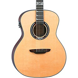 Luna Guitars Artist Series Nouveau All Solid Wood Grand Auditorium Acoustic-Electric Guitar (Art Noveau)