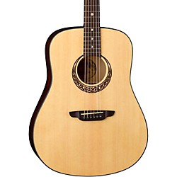 Luna Guitars Gypsy Series Gypsy Muse Dreadnought Acoustic Guitar (GYP MUS)