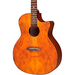 Luna Guitars Gypsy Spalt Grand Auditorium Acoustic Guitar (GYP SPALT)
