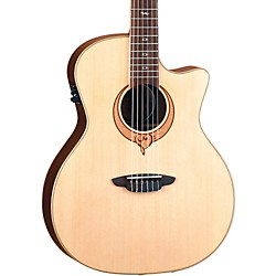 Luna Guitars Heartsong Nylon Acoustic Electric Guitar With USB (Song Nylon)