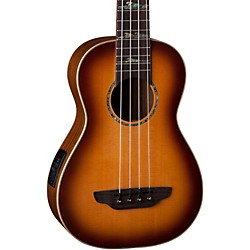 Luna Guitars High Tide Baritone Acoustic-Electric Ukulele (UKE BASS HT)