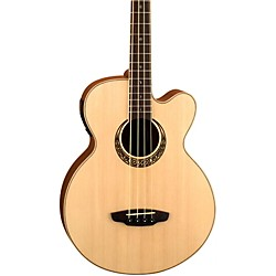 Luna Guitars Muse Acoustic-Electric Bass Guitar (mus bass)