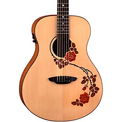 Luna Guitars Oracle Folk Series Rose Acoustic-Electric Guitar (OCL RSE)