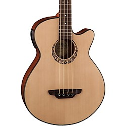 Luna Guitars Tribal Short Scale Acoustic-Electric Bass (LAB 30 TRIBAL)